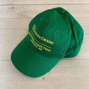 K-Products John Deere Embroidered Snapback Cap